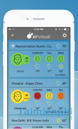 download air visual cho iphone