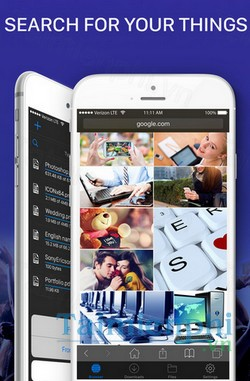 download files file browser manager cho iphone