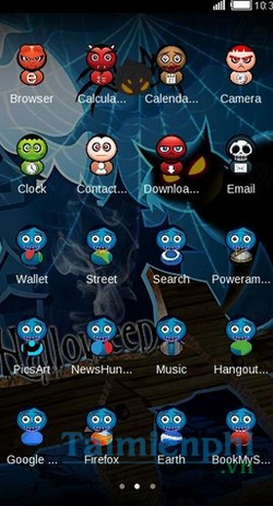 download halloween night theme cho android