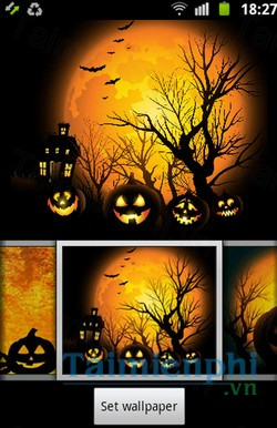 download halloween theme cho android