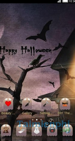download happy halloween theme cho android