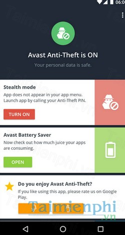 download avast antitheft cho android