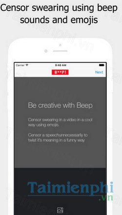download beep cho iphone