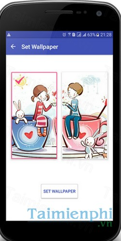 download couple wallpaper cho android