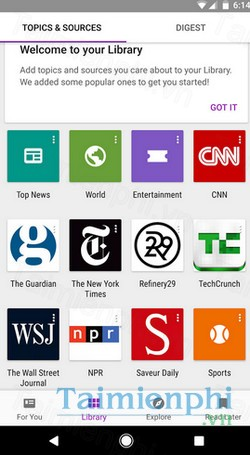 download google play newsstand cho android