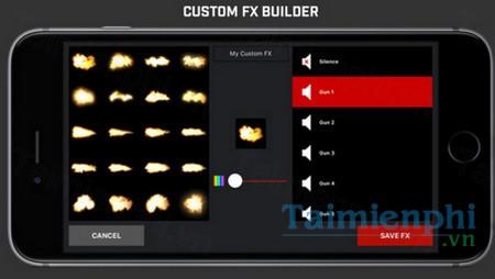 download gun movie fx cho iphone