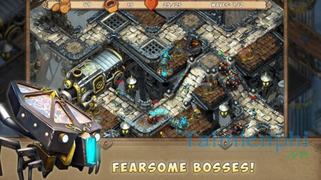 download iron heart steam tower td cho iphone