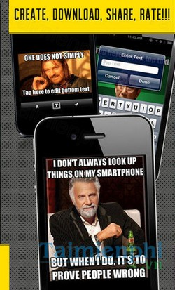 download meme factory cho iphone