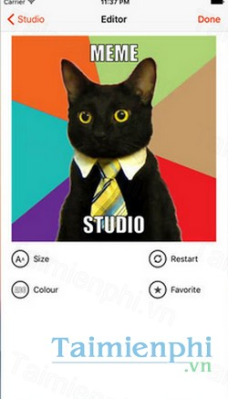 download meme studio cho iphone