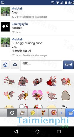 download messenger for facebook cho android