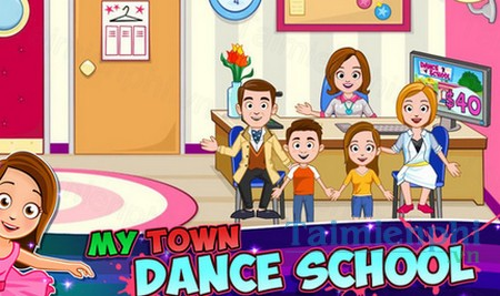 download my town dance school cho iphone