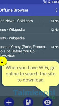 download offline browser cho android