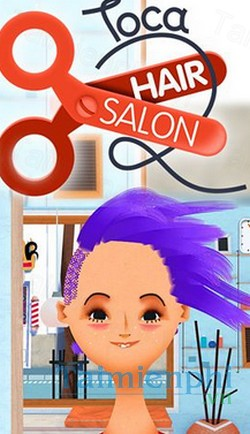 download toca hair salon cho iphone
