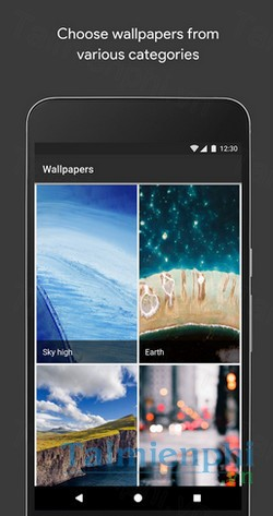 download wallpapers cho android