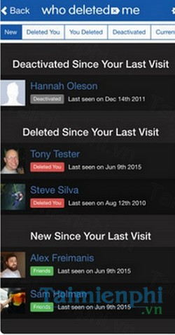download who unfriended me cho android