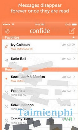 download confide cho iphone