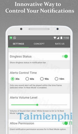download dingless cho android