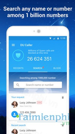 download du caller cho android