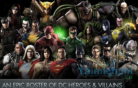 download injustice gods among us cho android