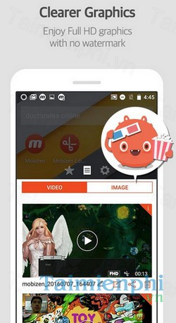 download mobizen screen recorder cho samsung