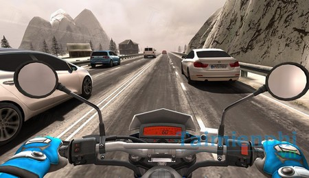 download traffic rider cho android