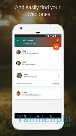 download trusted contacts cho android