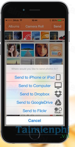 download image transfer cho iphone