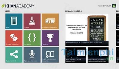 download khan academy cho windows phone