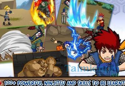 Tai Ninja Saga cho dien thoai