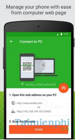 Xender cho Android - Chia sẻ dữ liệu giữa Android, iOS và PC