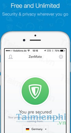 download zenmate cho iphone