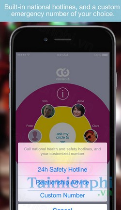 download circle of 6 cho iphone