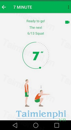 download 7 minutes workout cho android