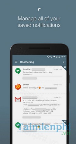 download boomerang notifications cho android