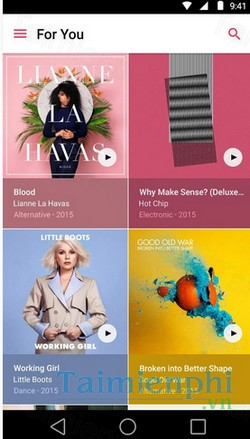 download apple music cho android
