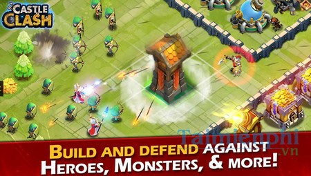 download castle clash cho windows phone