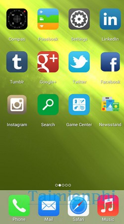 download launcher i6 cho android