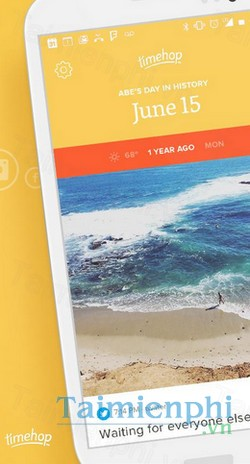 download timehop cho iphone