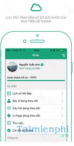 download udoctor cho iphone