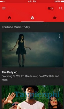 download youtube music cho android