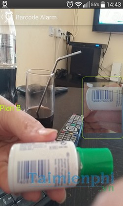 download barcode alarm cho android