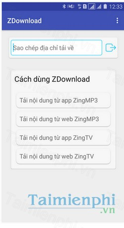 download zdownload cho android
