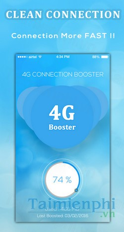 download 4g speed booster cho android