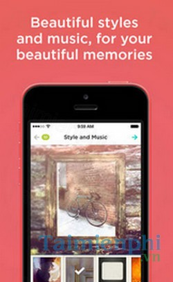download animoto video slideshow maker cho iphone