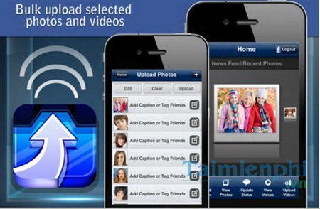 download bulk upload for facebook cho iphone