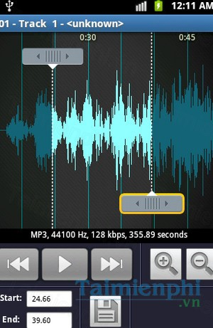 download mp3 ringtone maker cho android