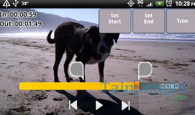 download snip video trimmer cho android