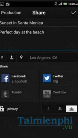 download viddy cho android