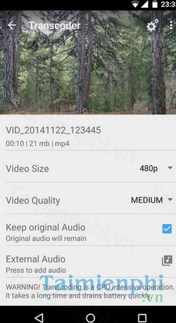 download vidtrim cho android