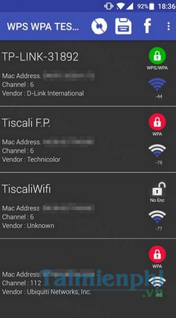 download wifi wps wpa tester cho android